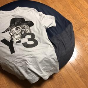 Y3のTシャツ