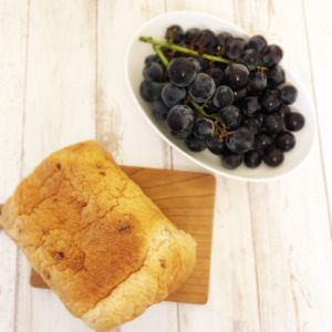 葡萄とパン