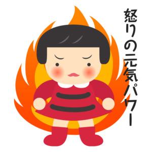 怒りパワー