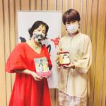 広島FMに出演した私